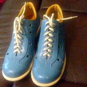 Franco Sarto Leather sports pair